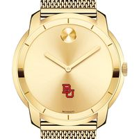 Boston University Men's Movado Gold Bold 44