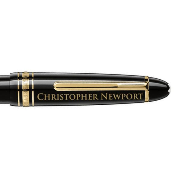 Christopher Newport University Montblanc Meisterstück LeGrand Ballpoint Pen in Gold - Image 2
