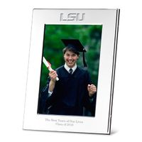 LSU Polished Pewter 4x6 Picture Frame