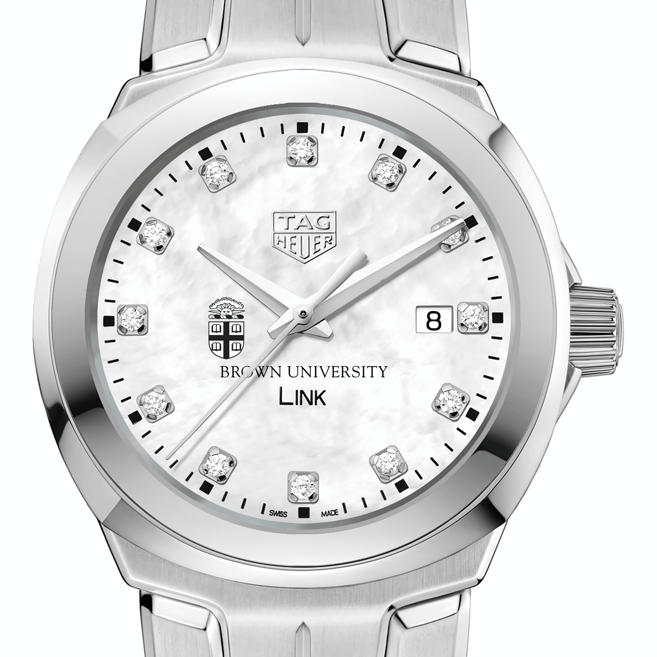 Brown University TAG Heuer Diamond Dial LINK for Women