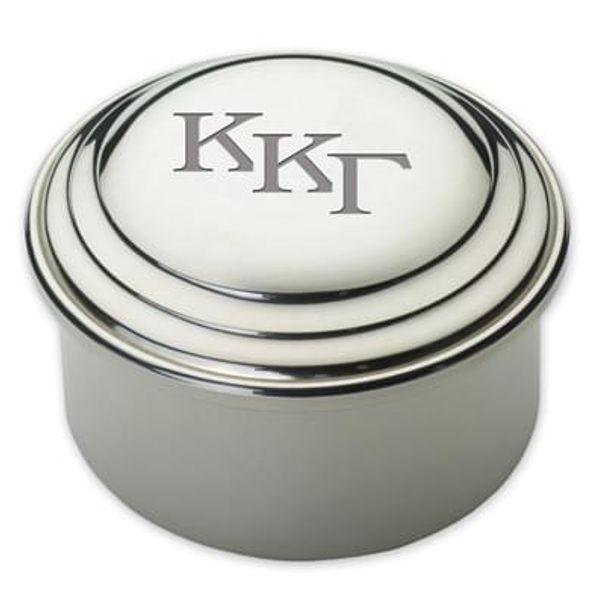 Kappa Kappa Gamma Pewter Keepsake Box - Image 1