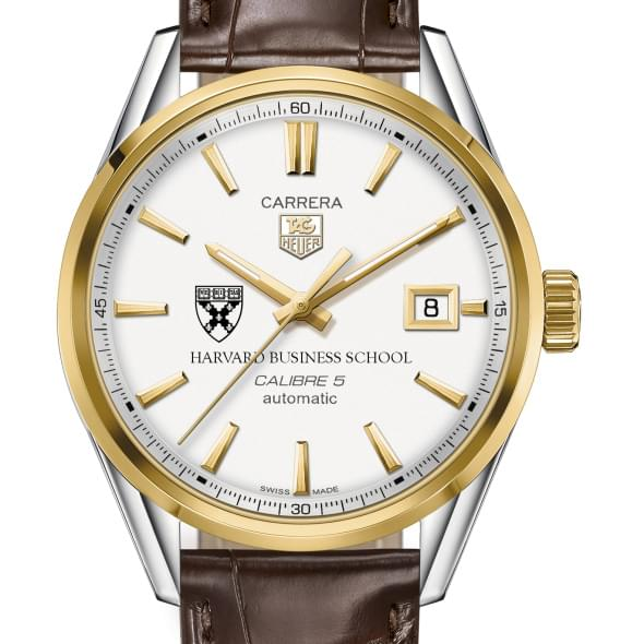 Harvard Business School Men's TAG Heuer Two-Tone Carrera with Strap
