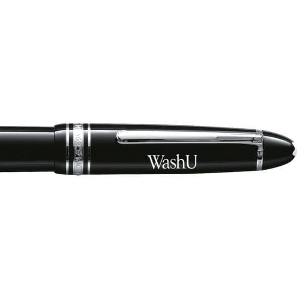 WashU Montblanc Meisterstück LeGrand Rollerball Pen in Platinum - Image 2