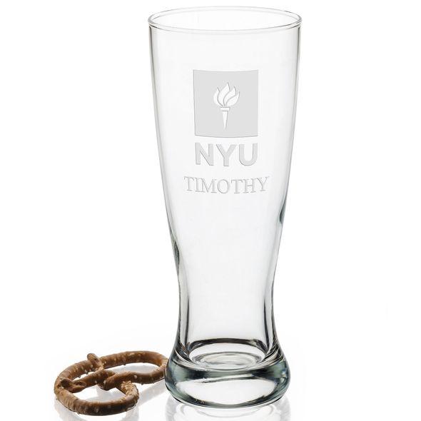 NYU 20oz Pilsner Glasses - Set of 2 - Image 2