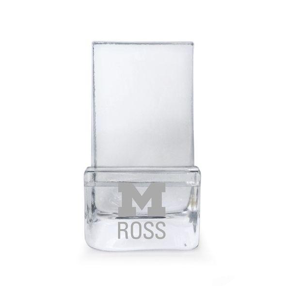 Michigan Ross Glass Phone Holder by Simon Pearce