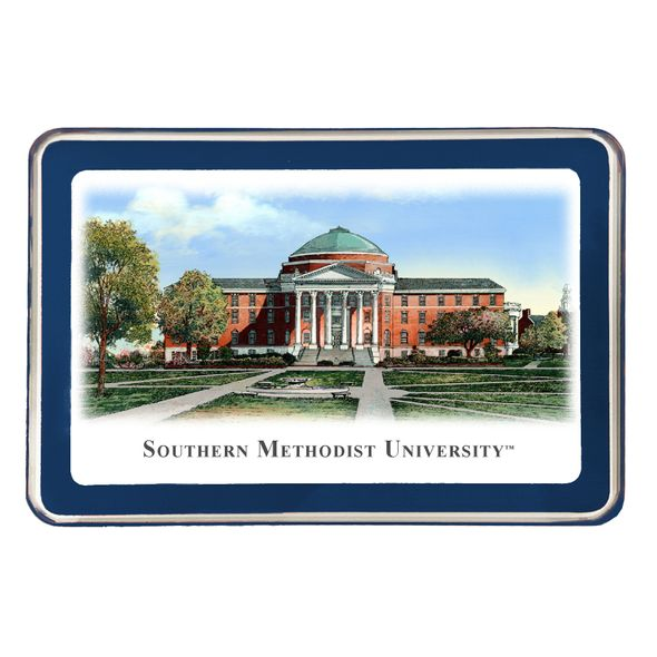 SMU Eglomise Paperweight