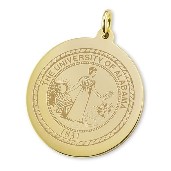 Alabama 18K Gold Charm