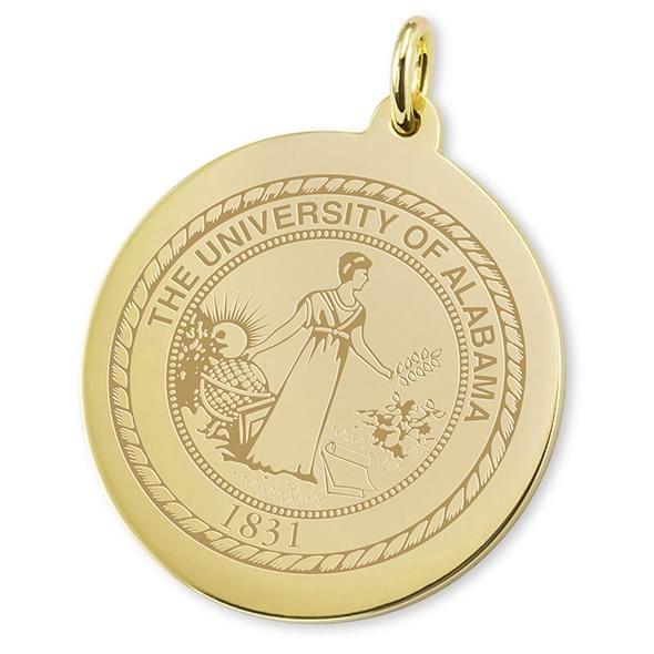 Alabama 18K Gold Charm - Image 2