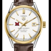 Miami University Men's TAG Heuer Two-Tone Carrera with Strap