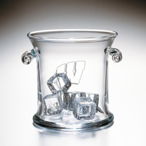 Wisconsin Glass Ice Bucket by Simon Pearce