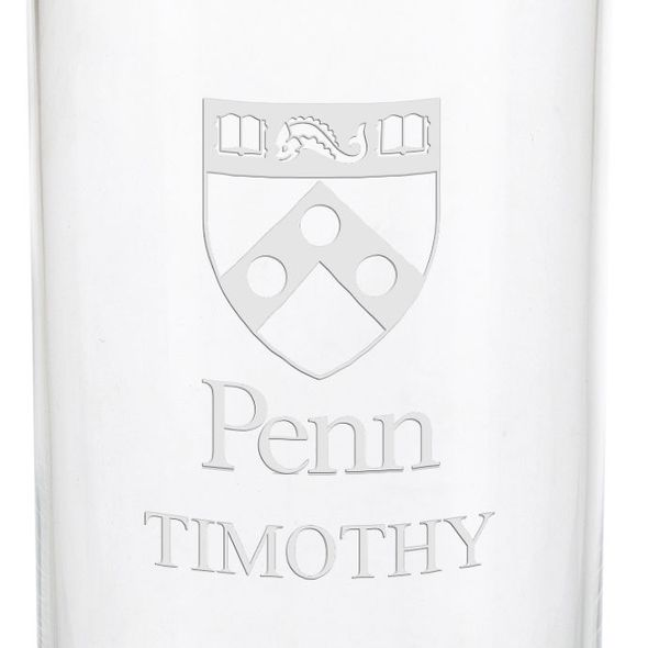 University of Pennsylvania Iced Beverage Glasses - Set of 4 - Image 3