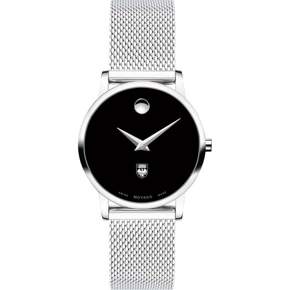 University of Chicago Women's Movado Museum with Mesh Bracelet - Image 2