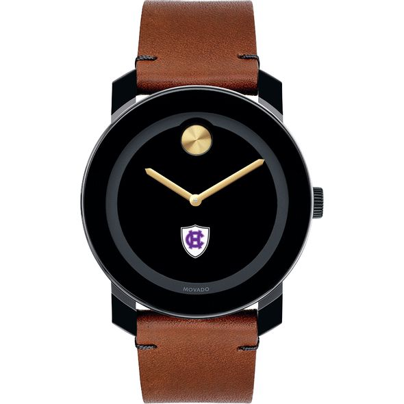 Holy Cross Men's Movado BOLD with Brown Leather Strap - Image 2