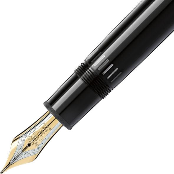 Brown Montblanc Meisterstück 149 Fountain Pen in Gold - Image 3