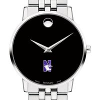 Northwestern University Men's Movado Museum with Bracelet