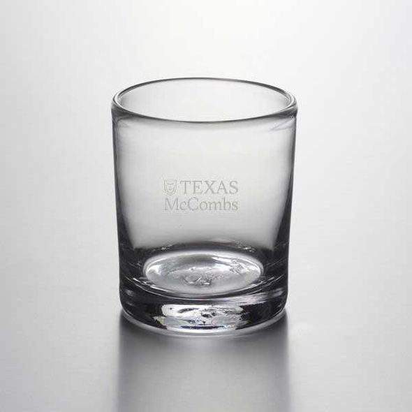 Texas McCombs Double Old Fashioned Glass by Simon Pearce - Image 1