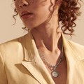 Yale Amulet Necklace by John Hardy with Classic Chain and Three Connectors - Image 1