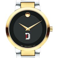 Davidson College Men's Movado Two-Tone Modern Classic Museum with Bracelet