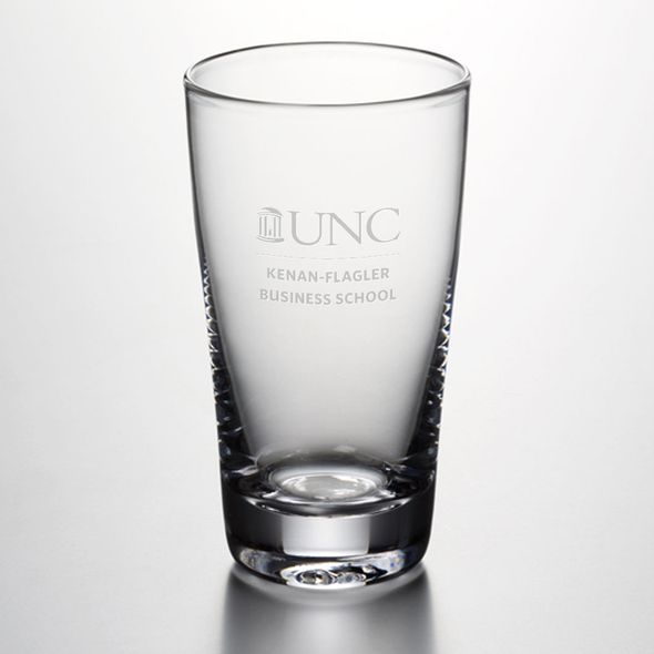 UNC Kenan-Flagler Ascutney Pint Glass by Simon Pearce - Image 1