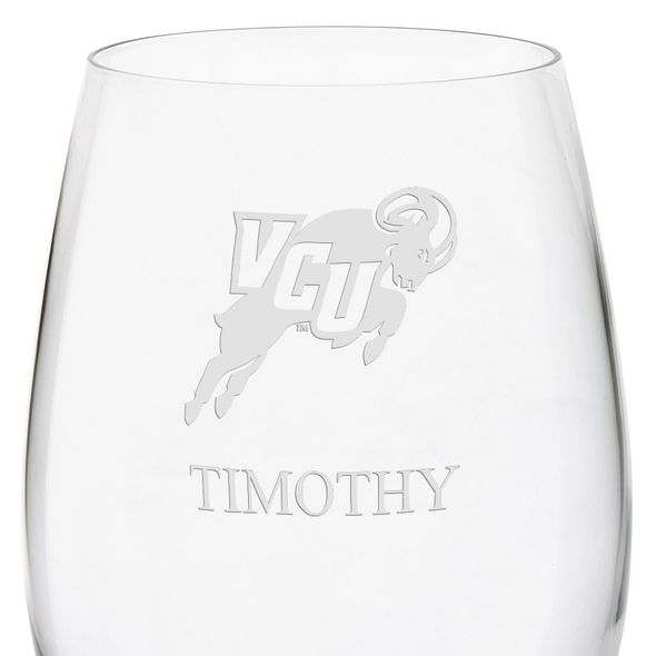 Virginia Commonwealth University Red Wine Glasses - Set of 2 - Image 3