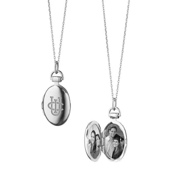 UC Irvine Monica Rich Kosann Petite Locket in Silver - Image 1