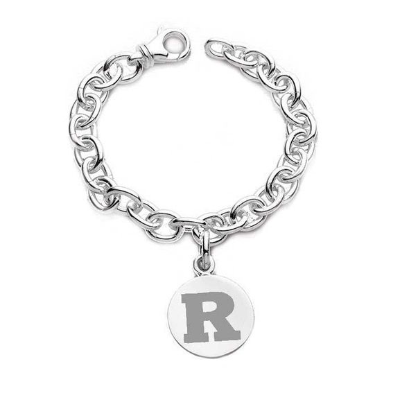 Rutgers University Sterling Silver Charm Bracelet