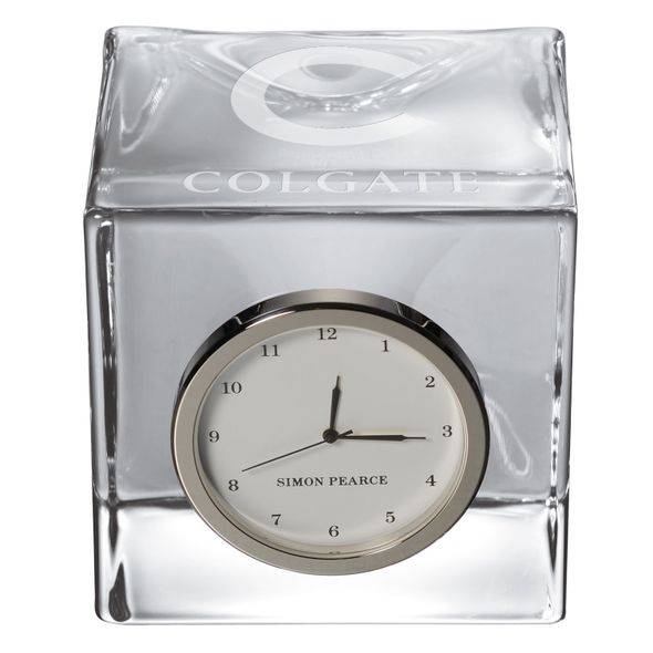 Colgate Glass Desk Clock by Simon Pearce - Image 2