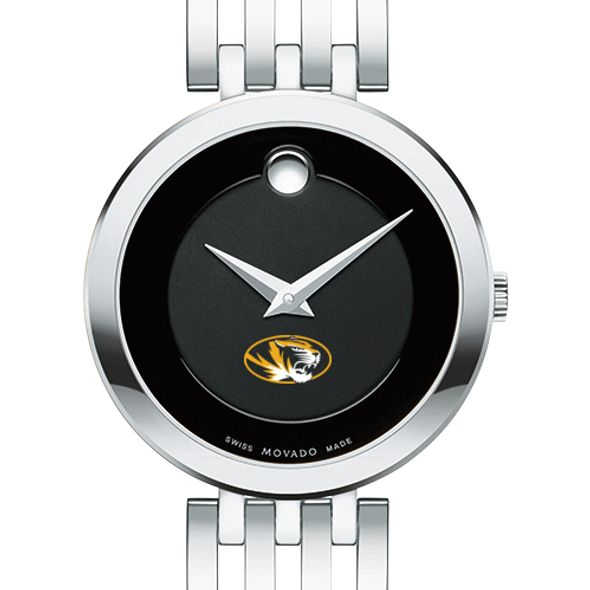 University of Missouri Women's Movado Esparanza Stainless Steel Museum with Bracelet