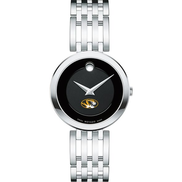 University of Missouri Women's Movado Esparanza Stainless Steel Museum with Bracelet - Image 2