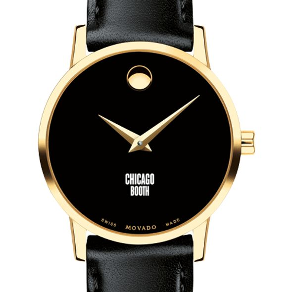 Chicago Booth Women's Movado Gold Museum Classic Leather - Image 1