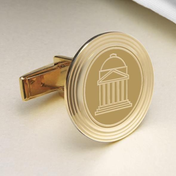 SMU 14K Gold Cufflinks - Image 2