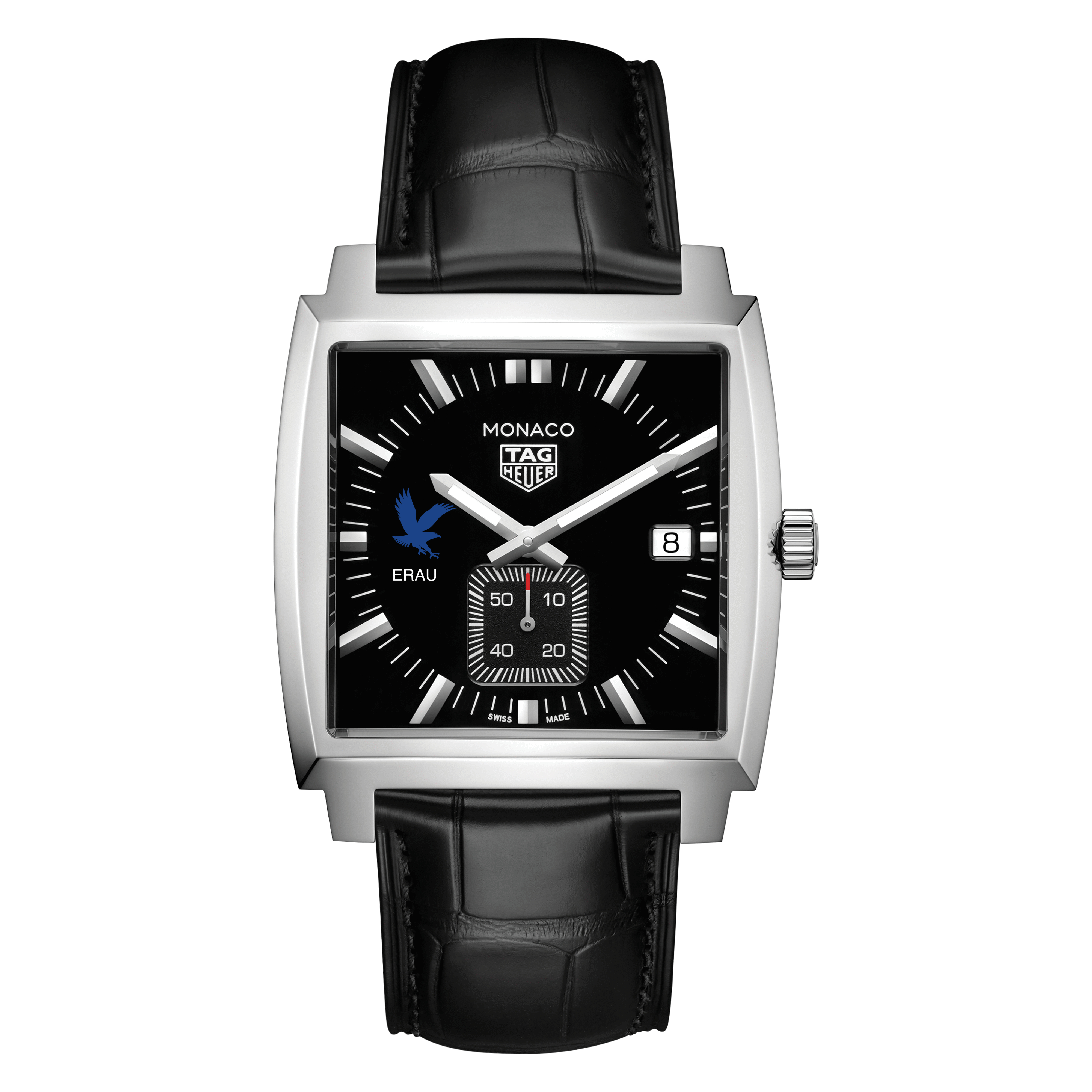 Embry-Riddle TAG Heuer Monaco with Quartz Movement for Men - Image 2