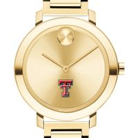 Texas Tech Women's Movado Gold Bold 34