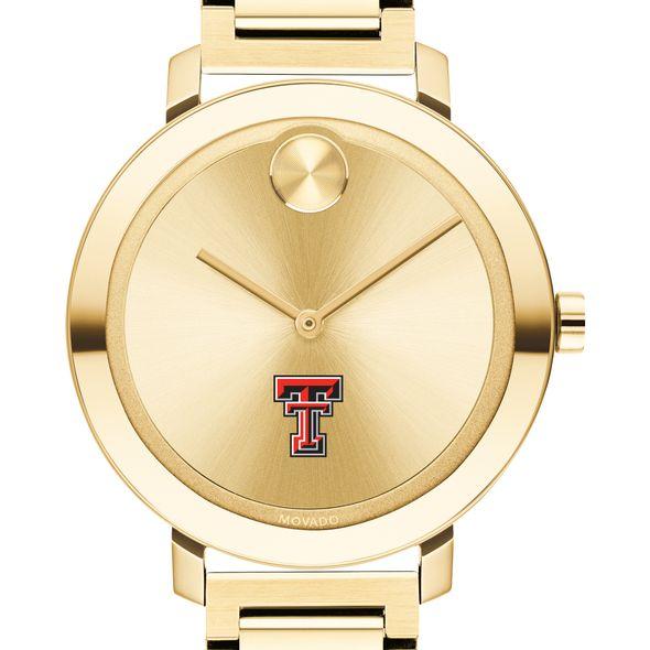 Texas Tech Women's Movado Gold Bold 34