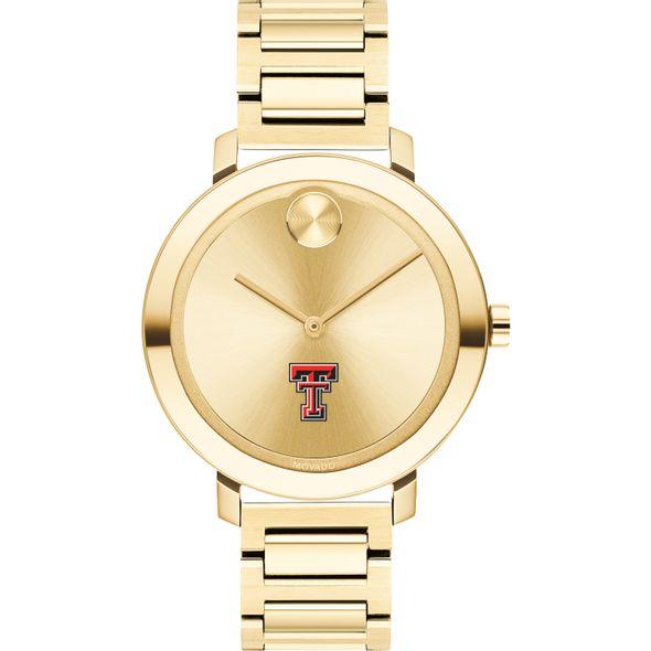 Texas Tech Women's Movado Gold Bold 34 - Image 2