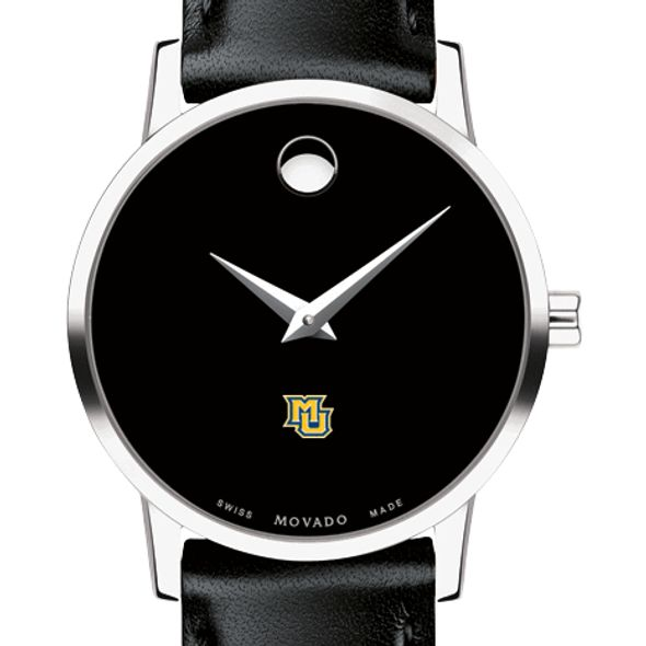 Marquette Women's Movado Museum with Leather Strap - Image 1