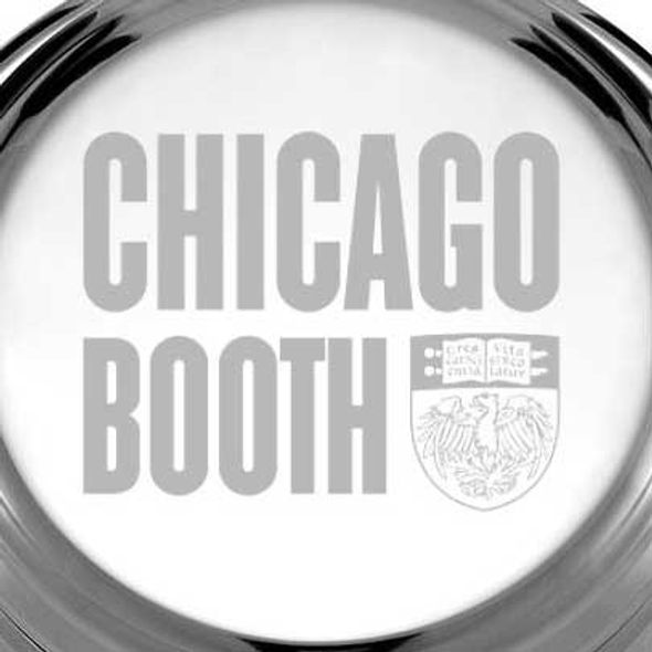 Chicago Booth Pewter Paperweight - Image 2