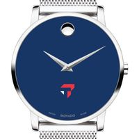 Tepper School of Business Men's Movado Museum with Blue Dial & Mesh Bracelet