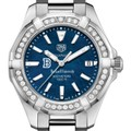 Bucknell Women's TAG Heuer 35mm Steel Aquaracer with Blue Dial - Image 1