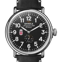 Brown Shinola Watch, The Runwell 47mm Black Dial