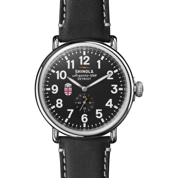 Brown Shinola Watch, The Runwell 47mm Black Dial - Image 2