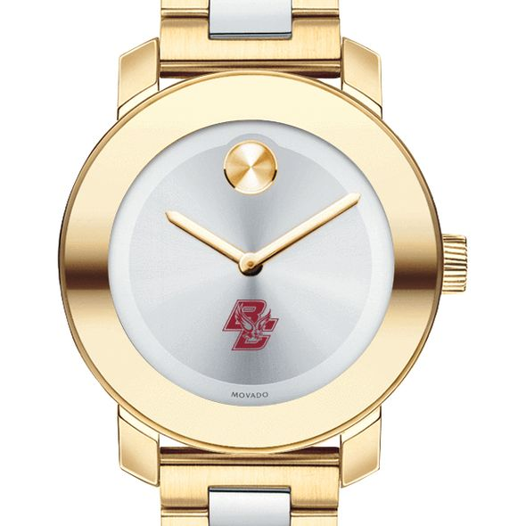 Boston College Women's Movado Two-Tone Bold