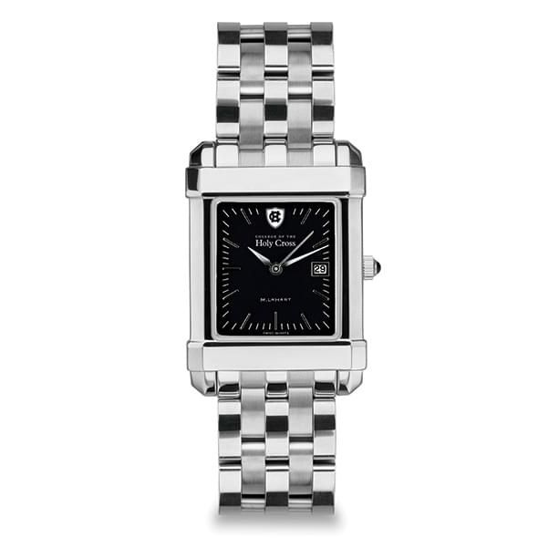 Holy Cross Men's Black Quad Watch with Bracelet - Image 2