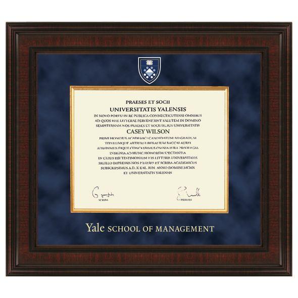 Yale SOM Diploma Frame - Excelsior - Image 1
