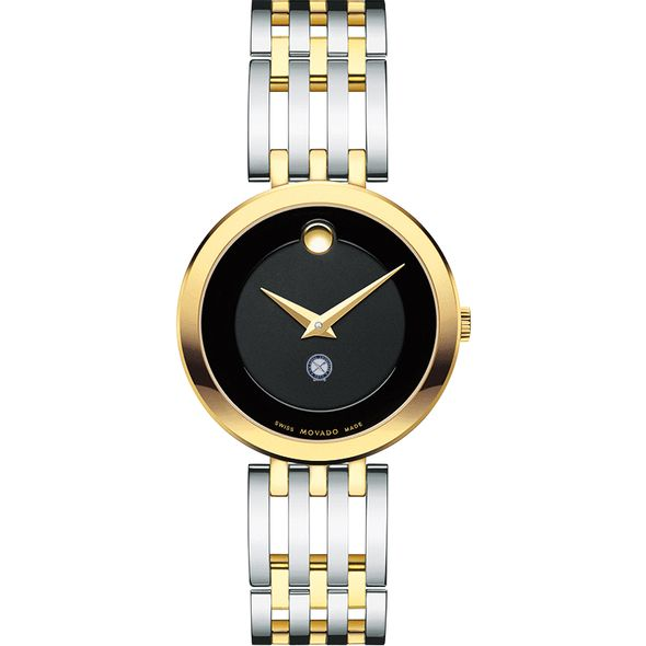 U.S. Naval Institute Women's Movado Esparanza Two-Tone Museum with Bracelet - Image 2