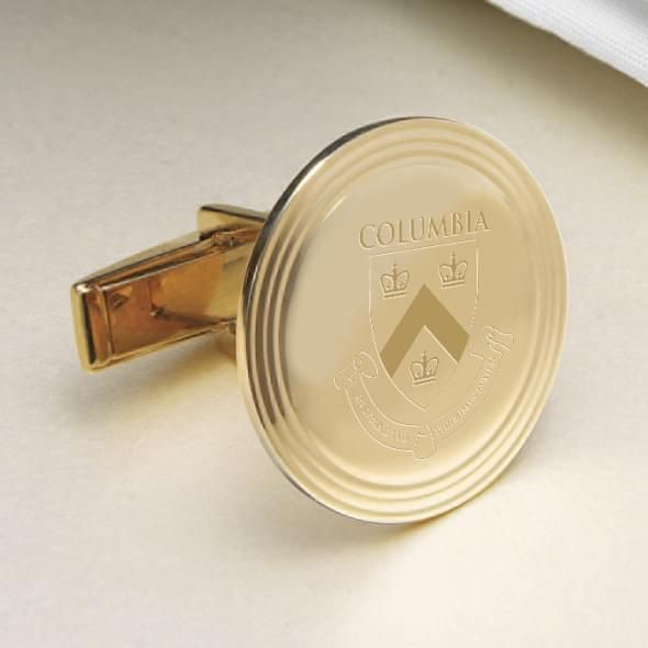 Columbia 14K Gold Cufflinks - Image 2