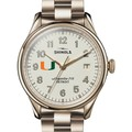 Miami Shinola Watch, The Vinton 38mm Ivory Dial - Image 1