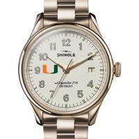Miami Shinola Watch, The Vinton 38mm Ivory Dial