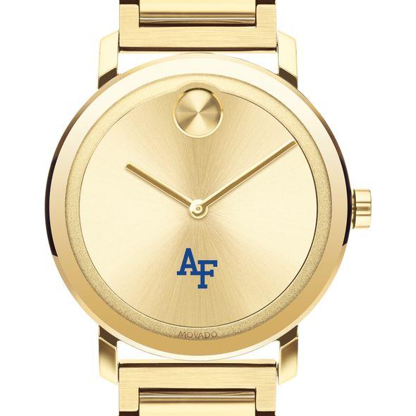 USAFA Men's Movado Bold Gold with Bracelet - Image 1