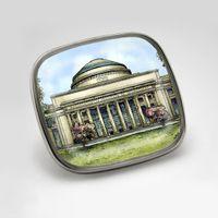MIT Eglomise Lapel Pin